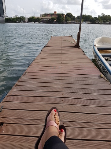 Chillaxin' on the Dock